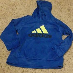 Adidas hooded sweatshirt boys 7